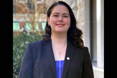 Montgomery County Director of Human Resources Alyssa Pierce