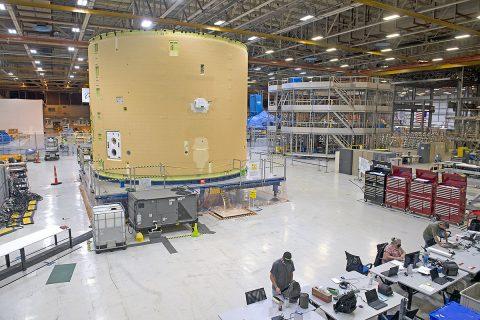 Intertank Assembly on Thursday, September 17, 2020. (NASA)