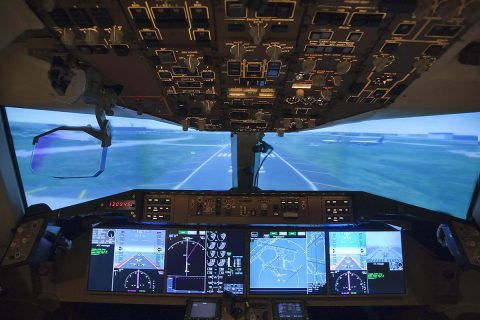Air traffic control managers have communicated with airline pilots verbally for decades, but with AeroMACS messages can quickly be sent digitally. (NASA)