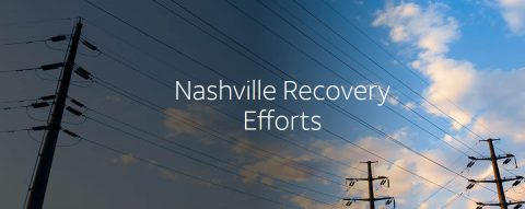 Nashville Recovery Efforts. (AT&T)