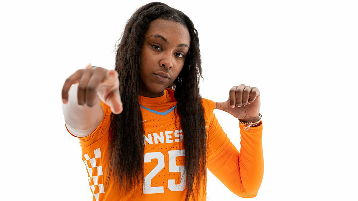 Tennessee Women's Basketball plays the Lipscomb Lady Bisons Monday night at Thompson-Boling Arena. (UT Athletics)