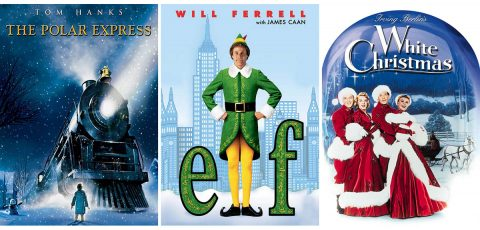 """The Polar Express"", ""Elf"", and ""White Christmas"" to be shown at the Roxy Regional Theatre as part of the Planters Bank Presents… film series."