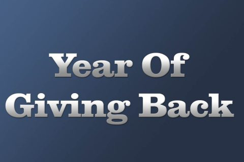 Year of Giving Back
