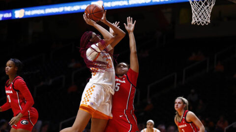 Tennessee Women's Basketball falls to Georgia 67-66 at Thompson-Boling Arena, Thursday night. (UT Athletics)