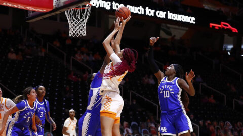 Tennessee Women's Basketball gets 70-52 win over Kentucky Sunday at Thompson-Boling Arena. (UT Athletics)
