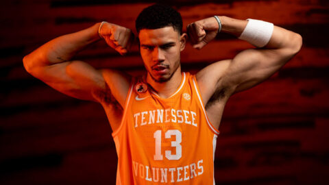 Tennessee Men's Basketball hits the road Saturday to take on Texas A&M. (UT Athletics)