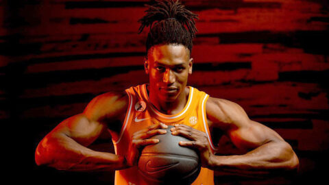 Tennessee Men's Basketball plays Kansas at Thompson-Boling Arena Saturday. (UT Athletics)