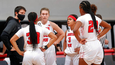 Austin Peay State University Women's Basketball looks to make it three wins in a row when they take on Tennessee State in Nashville, Monday. (Robert Smith, APSU Sports Information)