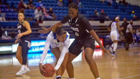 Austin Peay State University Women's Basketball rolls past Tennessee State 62-37, Monday. (APSU Sports Information)
