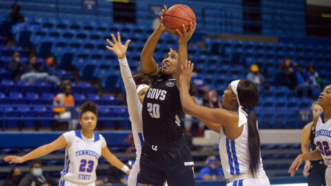 Austin Peay State University Women's Basketball hit the road Thursday to take on the SIU Edwardsville Cougars. (APSU Sports Information)