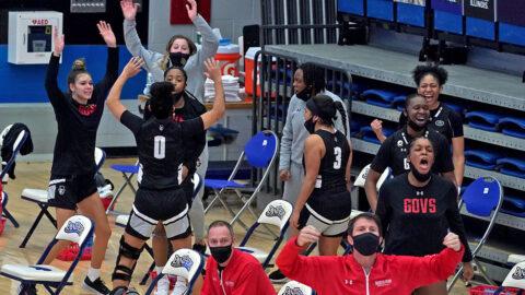 Austin Peay State University Women's Basketball defeats Eastern Illinois 77-68, Saturday. (APSU Sports Information)