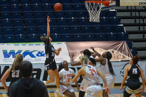 Austin Peay State University women's basketball falls on the road to UT Martin, 69-53. (APSU Sports Information)