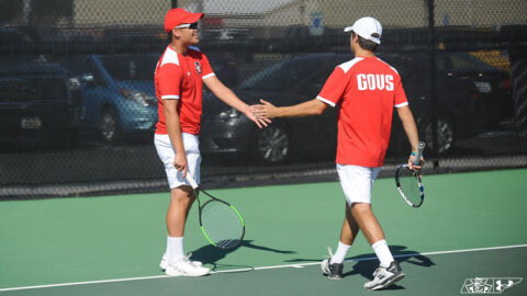 Austin Peay State University Men's Tennis plays Lipscomb on Friday in Evansville then heads to Middle Tennessee Sunday. (APSU Sports Information)