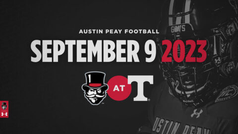 Austin Peay State University Football will play Tennessee Volunteers at Neyland Stadium in 2021. (APSU Sports Information)