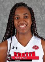 Ausitn Peay State University Women's Basketball - Kemia Ward. (Robert Smith, APSU Sports Information)