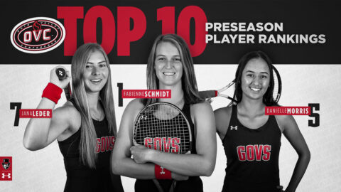Austin Peay State University Women's Tennis picked selected to repeat as OVC Champs. (APSU Sports Information)