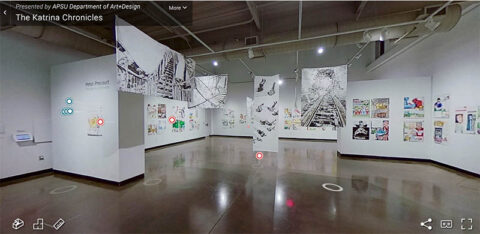 Austin Peay State University to off virtual tour 'The Katrina Chronicles' through February 12th.