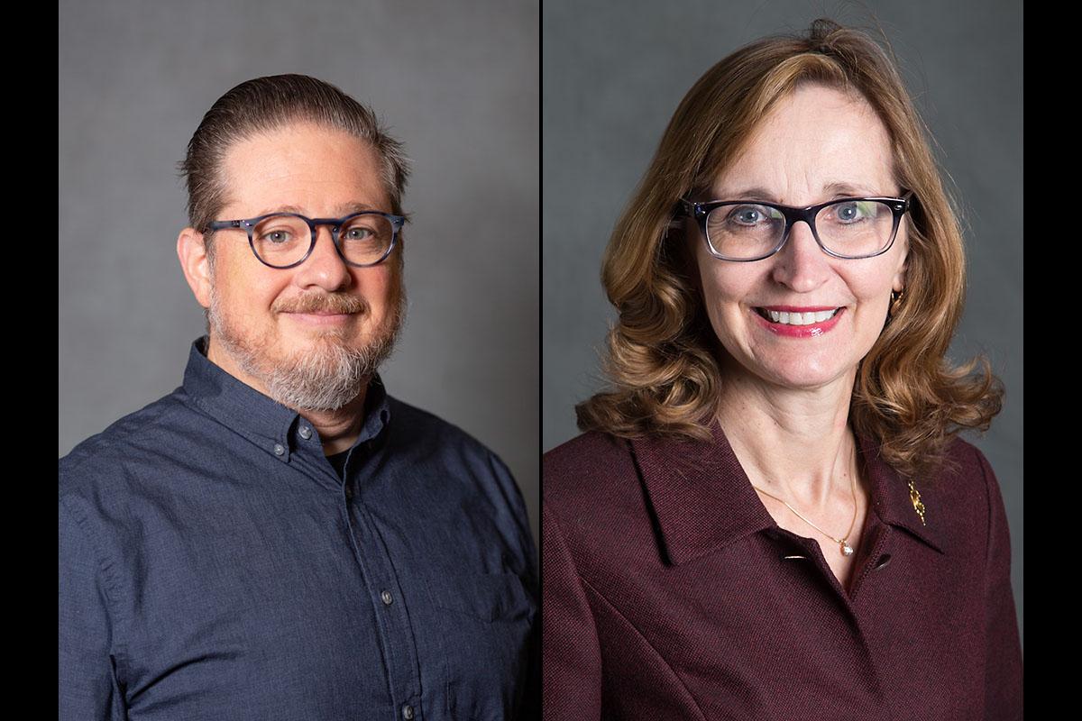 Austin Peay State University's Dr. Kevin M. Baron and Dr. Minoa Uffelman. (APSU)