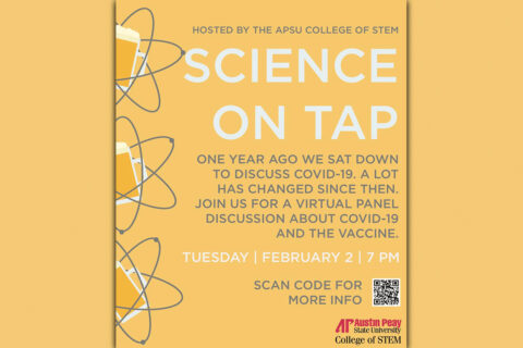 Austin Peay State University's Science On Tap goes Virtual. (APSU)