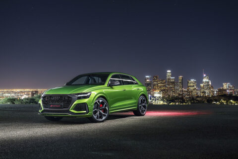 Hankook Tire is supplying the new Audi RS Q8 with its premium UHP winter and summer tires.