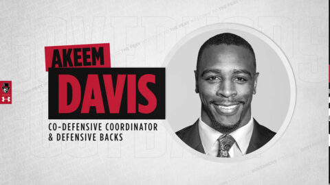 Austin Peay State University Football co-defensive coordinator and defensive backs coach Akeem Davids. (APSU Sports Information)