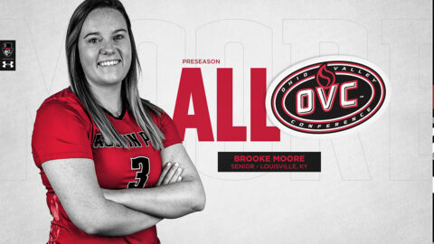 Austin Peay State University Volleyball's Brooke Moore named to Preseason All-OVC Team. (APSU Sports Information)