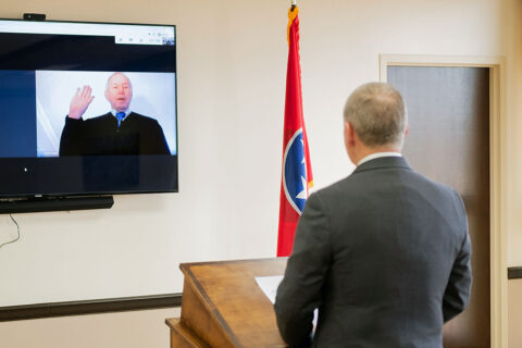 Clarksville Municipal Court Judge Charles W. Smith  will preside over City Court for sixth term.