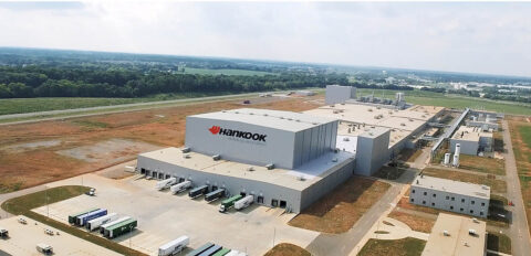 Hankook Tire's Plant in Clarksville, Tennessee.