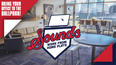 Nashville Sounds - Work From Home Plate