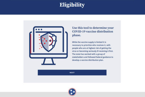 Tennessee COVID-19 Vaccine Eligibility Tool