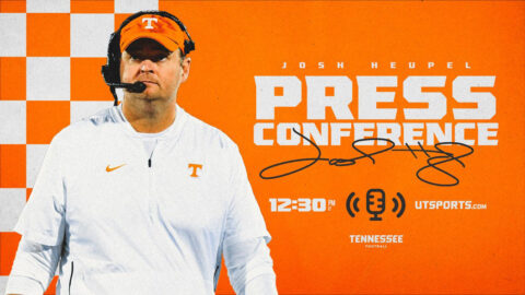 Tennessee Volunteers new Football Coach Josh Heupel. (UT Athletics)