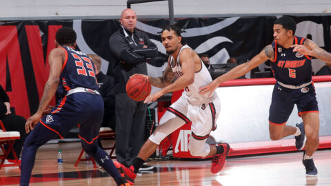 Austin Peay State University Men's Basketball plays Southeast Missouri at the Dunn Center, Saturday. (APSU Sports Information)