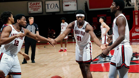 Austin Peay State University Men's Basketball faces Eastern Illinois at the Dunn Center, Saturday. (APSU Sports Information)