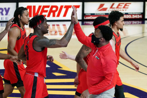 Austin Peay State University Men's Basketball travels to Jacksonville State for afternoon contest. (APSU Sports Information)
