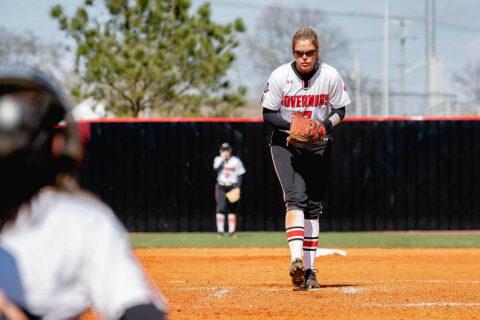 Austin Peay State University Softball gets 6-2 win over Western Carolina Saturday then beats Mercer 9-1 in the nightcap. (APSU Sports Information)