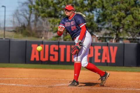 Austin Peay State University Softball defeats Western Carolina and Mercer Sunday at the Troy Invitational. (APSU Sports Information)