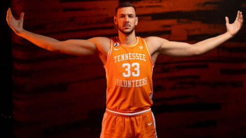 Tennessee Men's Basketball is on the road Saturday to take on Auburn. (UT Athletics)