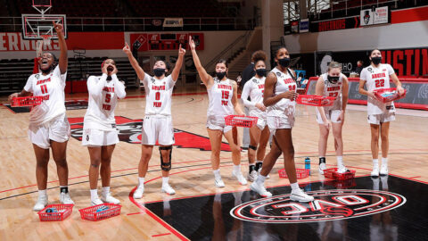 Austin Peay State University Women's Basketball gets 58-45 win over Tennessee State Tuesday at the Dunn Center. (APSU Sports Information)