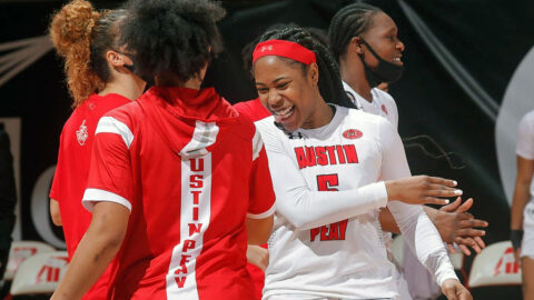 Austin Peay State University Women's Basketball heads to Cookeville Thursday to face Tennessee Tech. (APSU Sports Information)