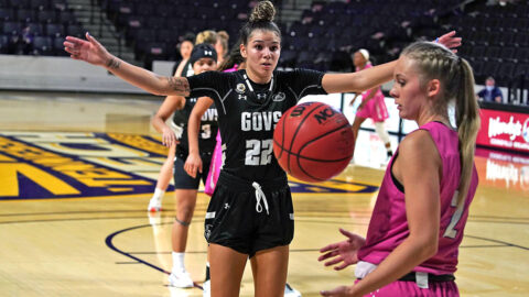 Austin Peay State University Women's Basketball rally comes up short at Tennessee Tech. (APSU Sports Information)