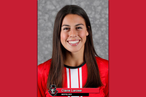2020 APSU Soccer - Claire Larose. (Robert Smith, APSU Sports Information)