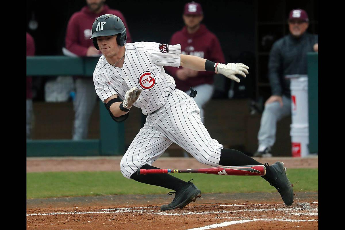 Austin Peay State University Baseball drops season opener to Dallas Baptist Saturday. (Robert Smith, APSU Sports Information)