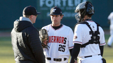 Austin Peay State University Baseball unable to hold off Army late in 2-1 loss, Friday. (Robert Smith, APSU Sports Information)
