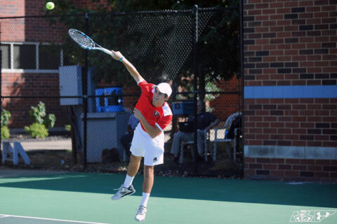 Austin Peay State University Men's Tennis hosts IUPUI Saturday night. (APSU Sports Information)