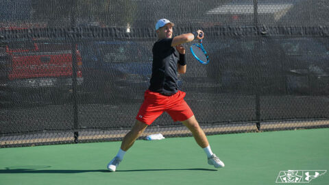 Austin Peay State University Men's Tennis comeback attempt falls short against IUPUI. (APSU Sports Information)