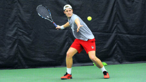 Austin Peay State University Men's Tennis faces off against Carson-Newman, Saturday. (APSU Sports Information)