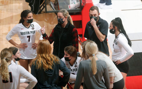 Austin Peay State University Volleyball heads to Eastern Illinois for Sunday and Monday matches. (Robert Smith, APSU Sports Information)