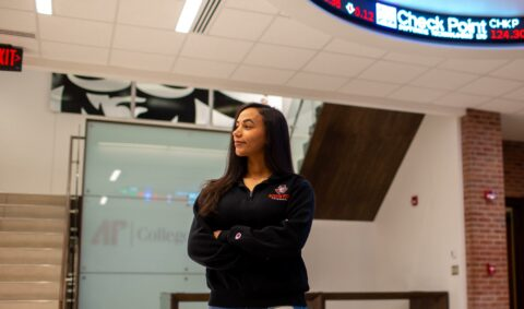 Katherine Alba inside the College of Business at Austin Peay State University. (APSU)