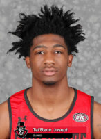 2020-2021 APSU Men's Basketball - Tai'Reon Joseph. (Robert Smith, APSU Sports Information)