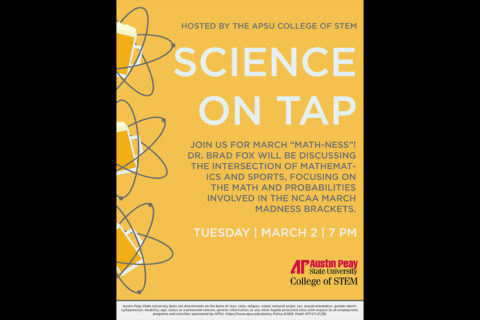 APSU Science On Tap - February 2021